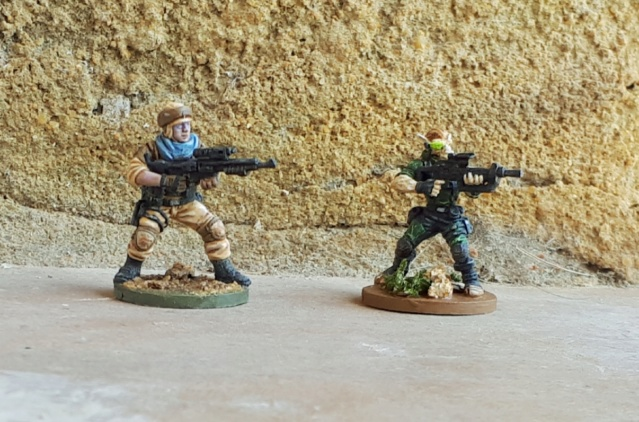 Figurines peintes divers jeux 20200428