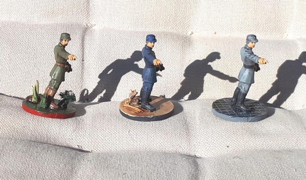 Figurines peintes divers jeux 20200432