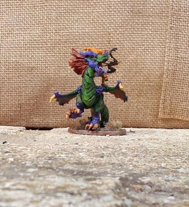 Figurines peintes divers jeux Clash_10