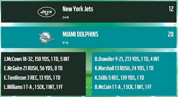 Jets @ Dolphins S9_w9_10