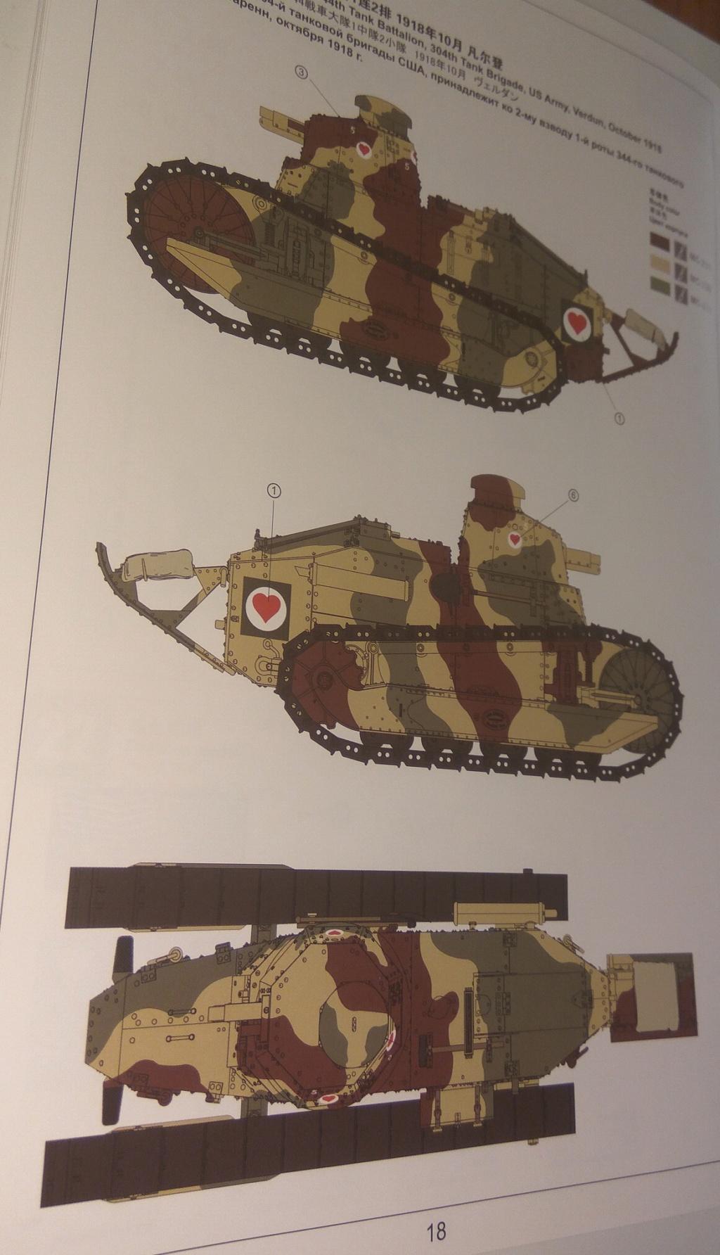 обзор лёгкий танк РЕНО FT-17 1:35 MENG TS-011 1910