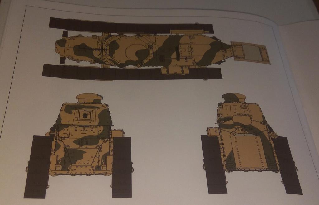 обзор лёгкий танк РЕНО FT-17 1:35 MENG TS-011 2110