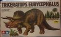обзор тираннозавр и трицератопс 1:35 от TAMIA №60203 и №60201  0114