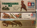 обзор тираннозавр и трицератопс 1:35 от TAMIA №60203 и №60201  0212