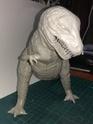 обзор тираннозавр и трицератопс 1:35 от TAMIA №60203 и №60201  2411