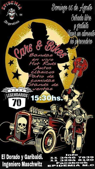 Mañana Domingo, Cars & Bikes!! Legend10