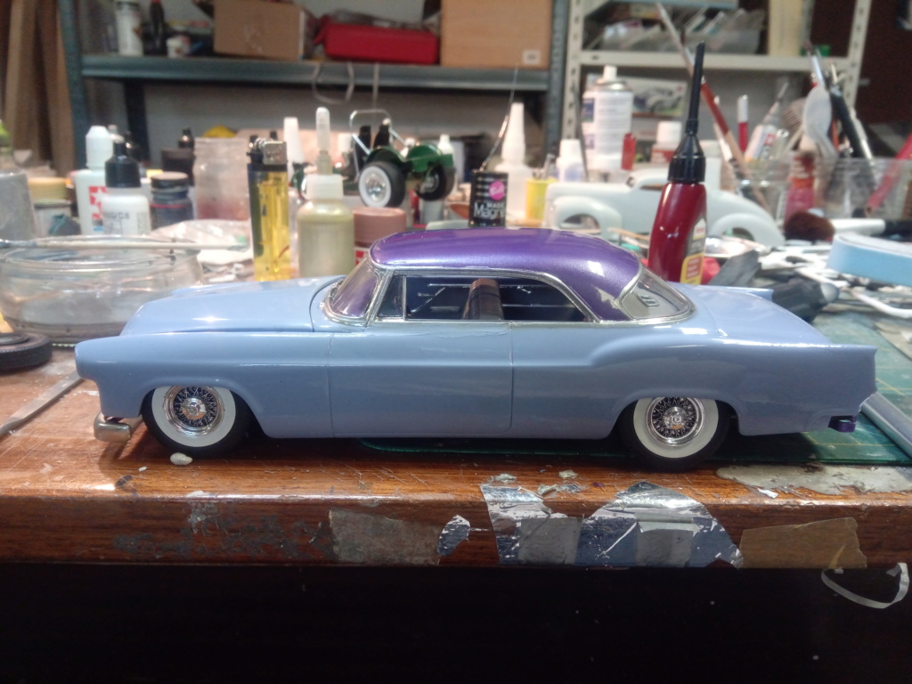 55' Chrysler 300,  Mild Kustom (Lucky Lavender ) a y est terminé  - Page 6 Img_2040