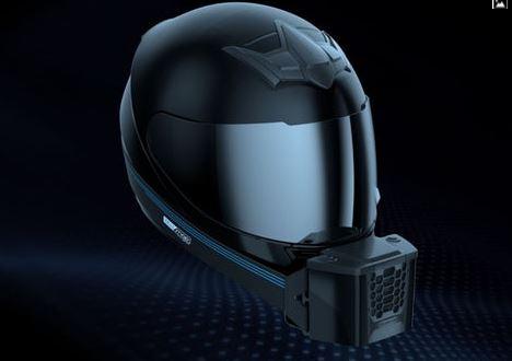 """""""Está calor? Não dentro deste capacete com ar condicionado"""" Helmet11"""