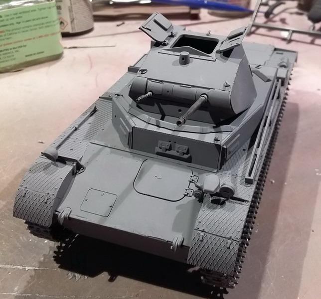 Panzer II Ausf. C - SdKfz 121 - 1/35 - Tamiya #35292 20191117