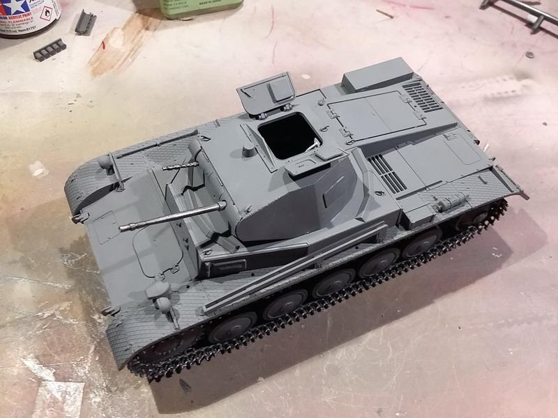 Panzer II Ausf. C - SdKfz 121 - 1/35 - Tamiya #35292 20191119