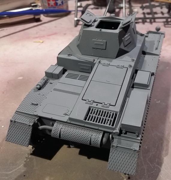 Panzer II Ausf. C - SdKfz 121 - 1/35 - Tamiya #35292 20191120