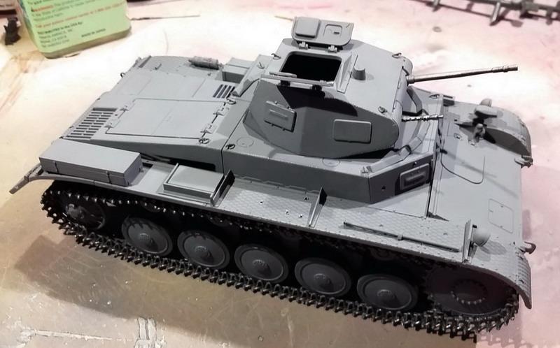 Panzer II Ausf. C - SdKfz 121 - 1/35 - Tamiya #35292 20191121