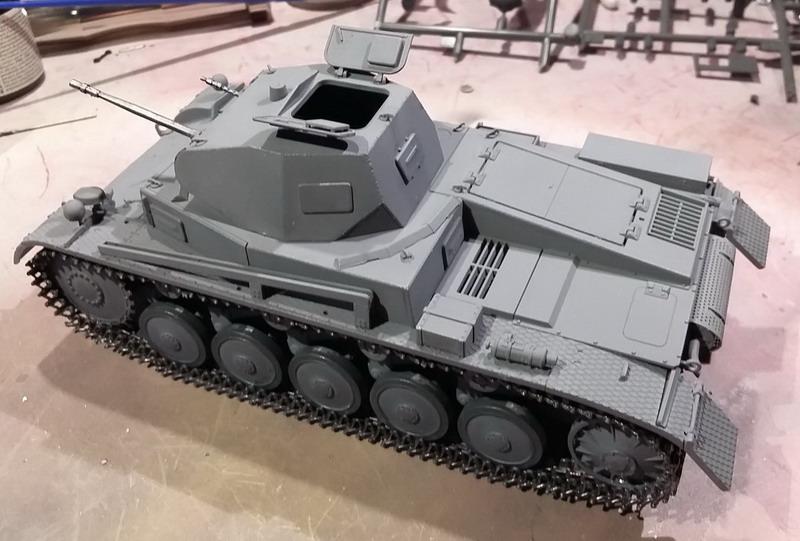 Panzer II Ausf. C - SdKfz 121 - 1/35 - Tamiya #35292 20191122