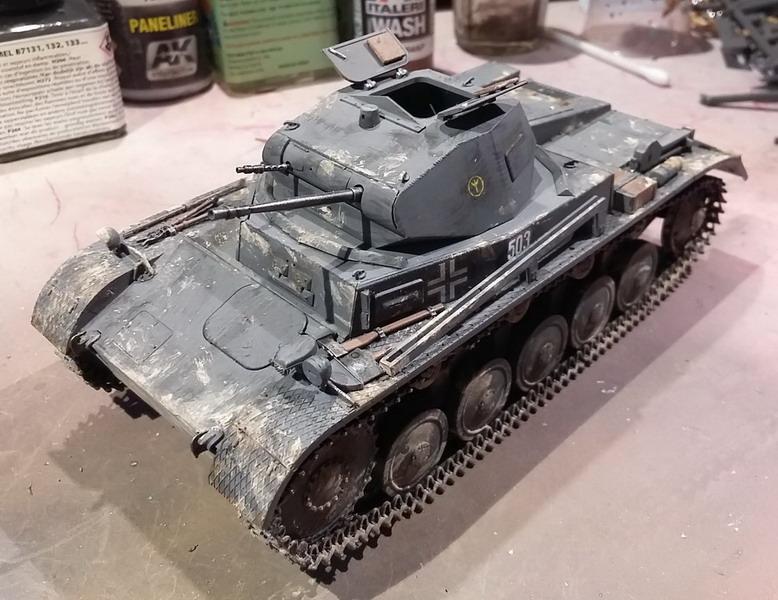 Panzer II Ausf. C - SdKfz 121 - 1/35 - Tamiya #35292 20191123
