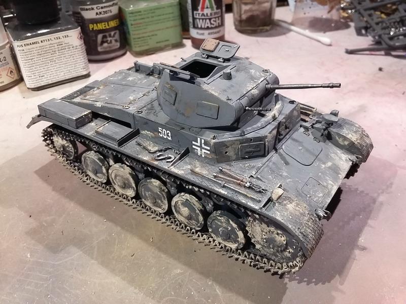 Panzer II Ausf. C - SdKfz 121 - 1/35 - Tamiya #35292 20191124