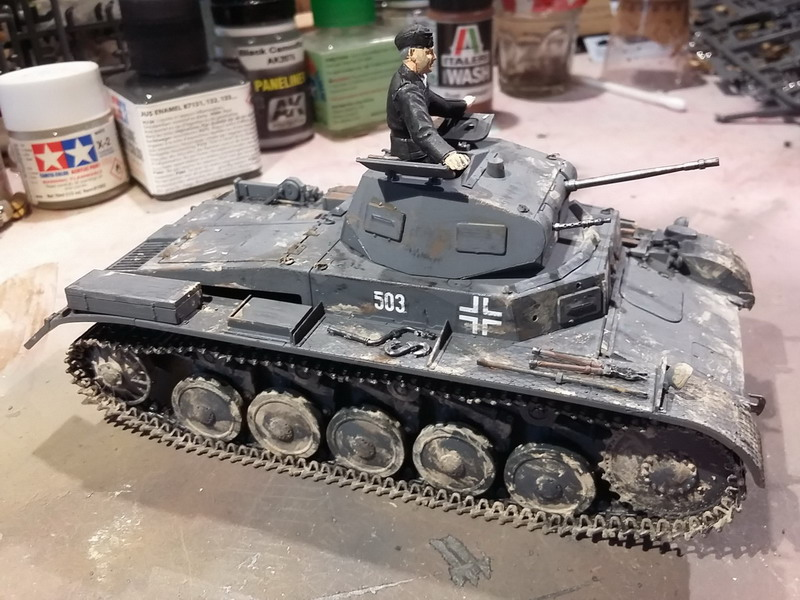 Panzer II Ausf. C - SdKfz 121 - 1/35 - Tamiya #35292 20191126