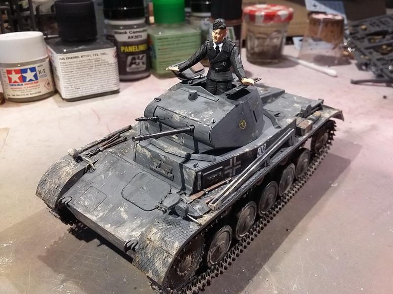 Panzer II Ausf. C - SdKfz 121 - 1/35 - Tamiya #35292 20191127