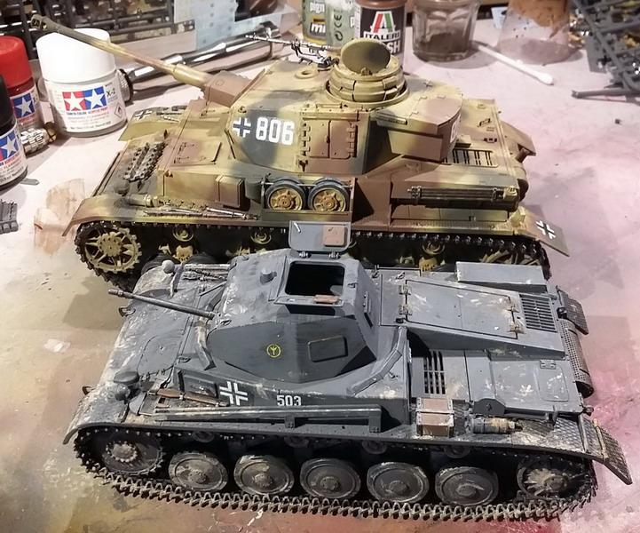 Panzer II Ausf. C - SdKfz 121 - 1/35 - Tamiya #35292 20191128