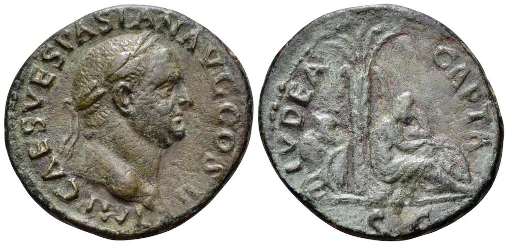 As de Vespasiano - IVDAEA CAPTA 24339010