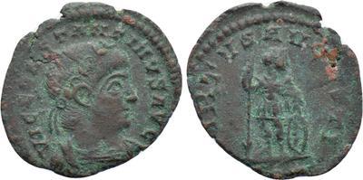 AE4 de Constantino II - VIRTVS AVGVSTI. Roma 45149210