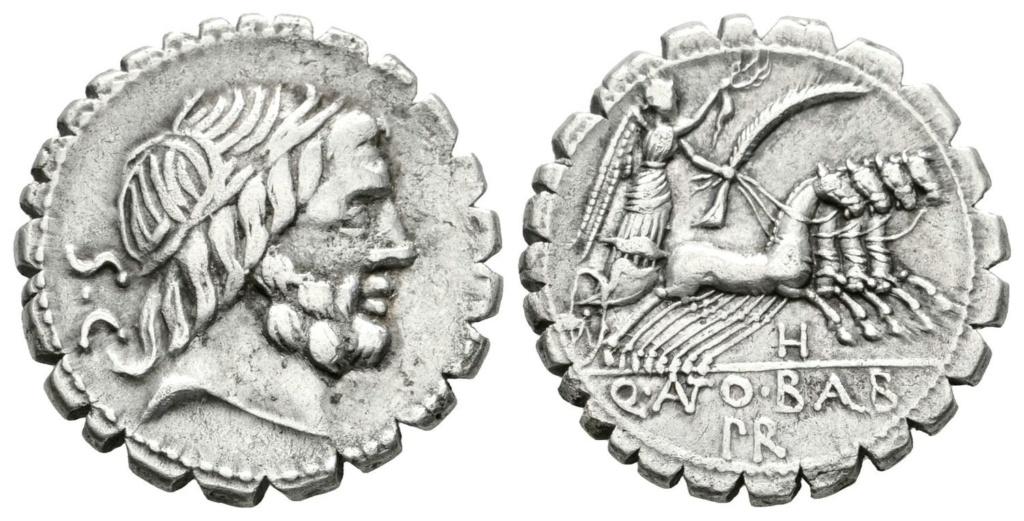 Denario de la gens Antonia. Q. ANTO. BALB - PR. Victoria guiando cuádriga a dcha. Roma. 51193810