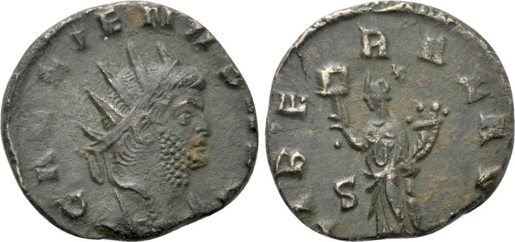 Antoniniano de Galieno - LIBERAL AVG - Roma 58676210
