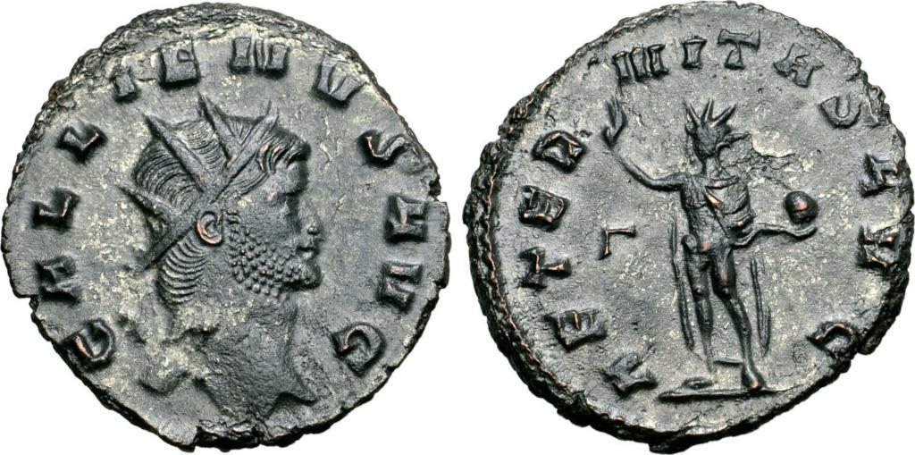 Antoniniano de Galieno - AETERNITAS AVG. Roma 71174110