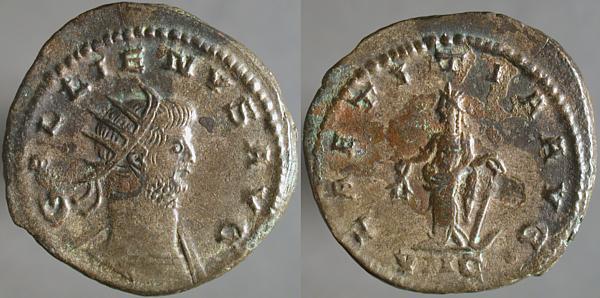 Antoniniano de galieno - LAETITIA AVG - Antioquia Erf_ri13