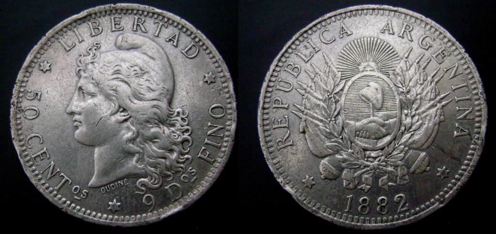 Argentina. Monedas de la serie del Patacón Pataco10