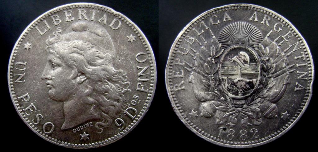 Argentina. Monedas de la serie del Patacón Pataco11