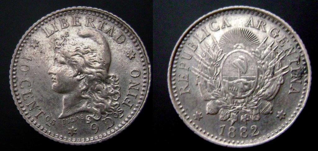 Argentina. Monedas de la serie del Patacón Pataco12