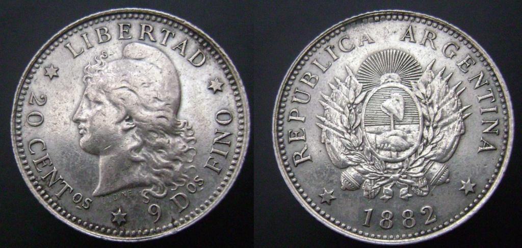 Argentina. Monedas de la serie del Patacón Pataco13