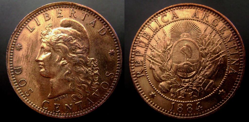 Argentina. Monedas de la serie del Patacón Pataco14