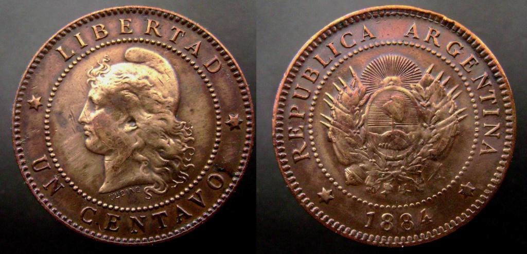 Argentina. Monedas de la serie del Patacón Pataco15