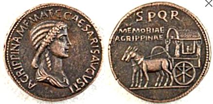 Sestercio de Agripina. Falso Ric_i_14