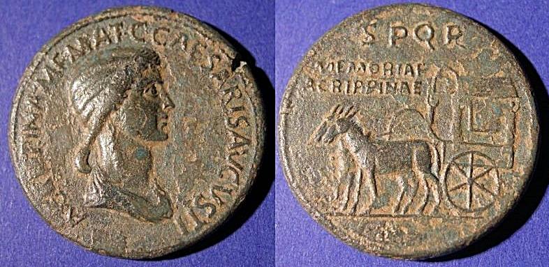 Sestercio de Agripina. Falso Ric_i_15