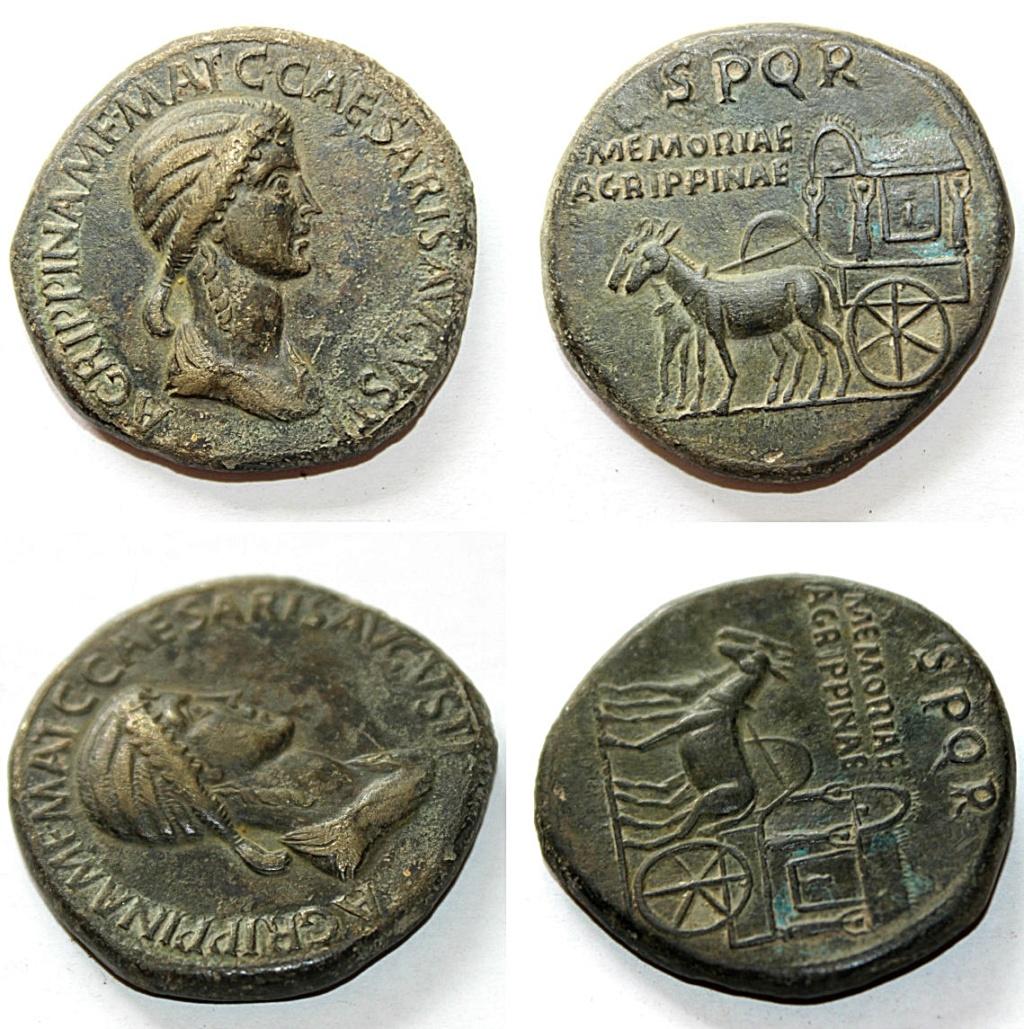 Sestercio de Agripina. Falso Ric_i_16