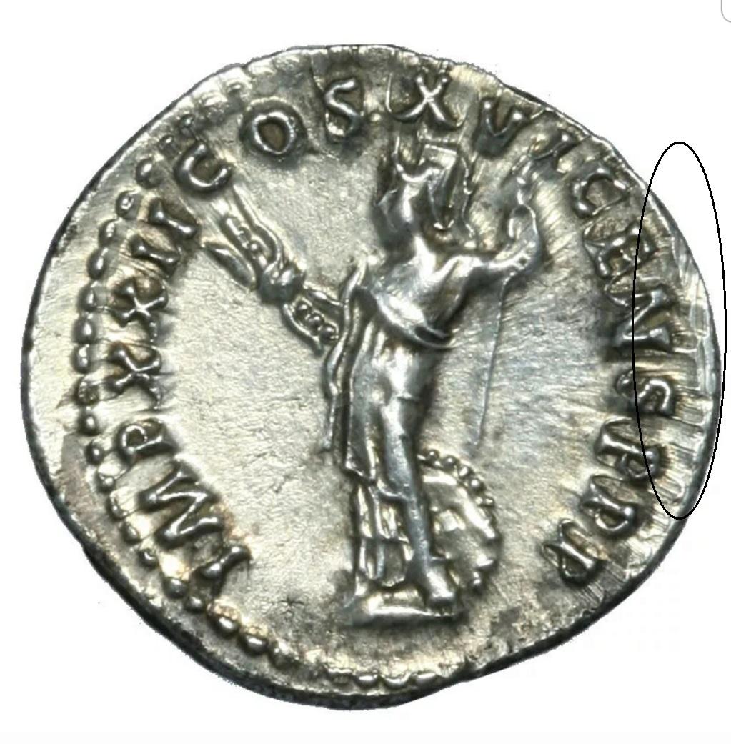 Denario de Domiciano. IMP XXII COS XVI CENS P P P. Minerva a izq. Roma Screen10
