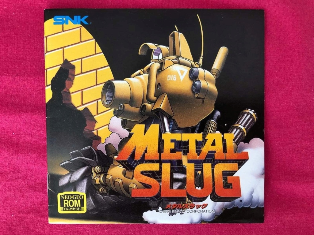 Authentification Metal Slug JP S-l16012