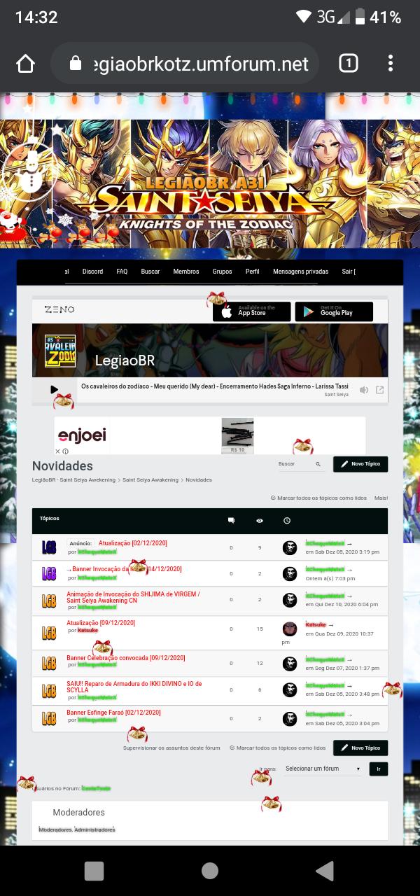 Centralizar os itens da barra de navegação Screen12