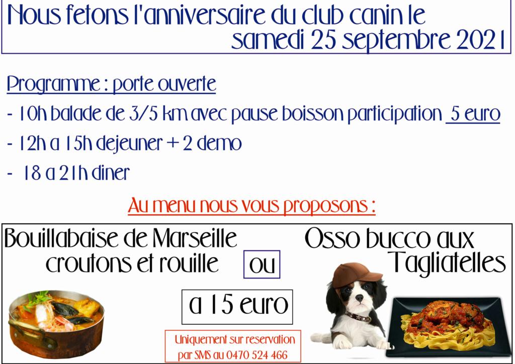 Club Canin des Amis de Tubize - Portail 00_ann10
