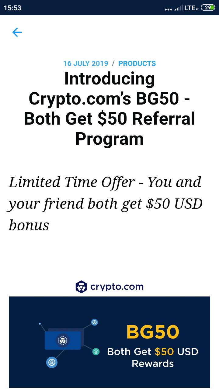 Crypto.com 50$ prawie jak blockchain Screen11