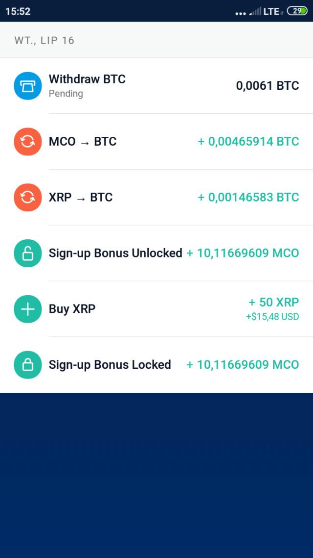 Crypto.com 50$ prawie jak blockchain Screen12