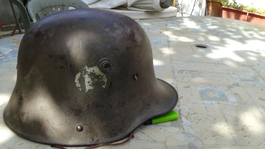 identification marquages tactique sur casque allemand M16 Dsc06923