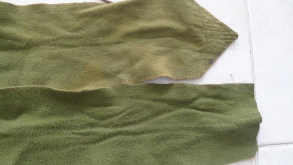 identification bandes molletière verte Dsc06959