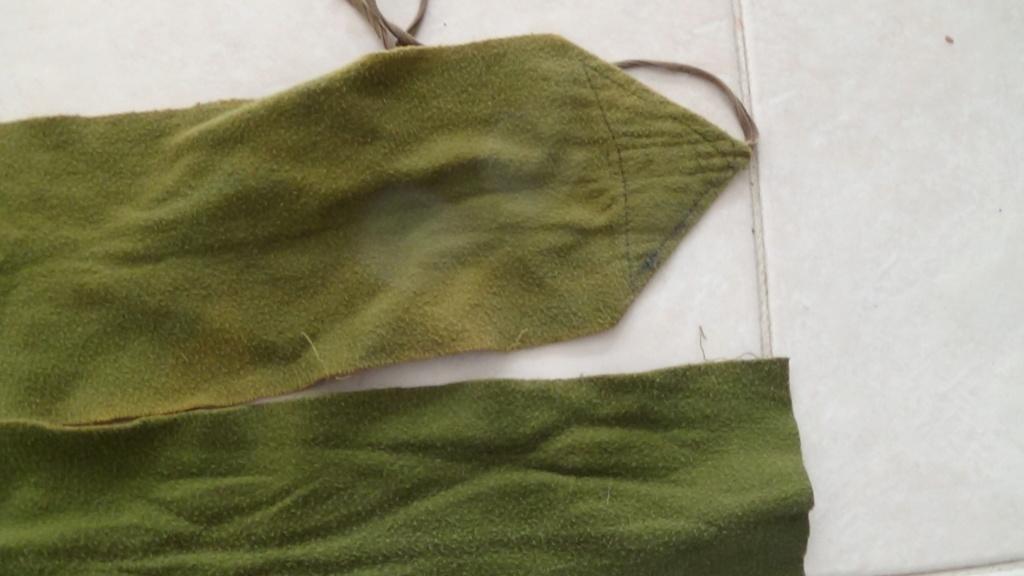 identification bandes molletière verte Dsc06960