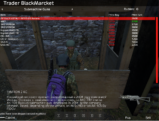 Black Market Submac10