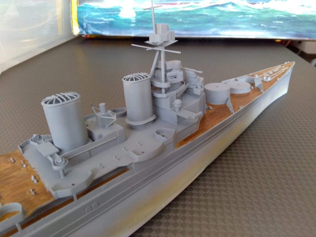 HMS HOOD 1/400 Heller Img_2069