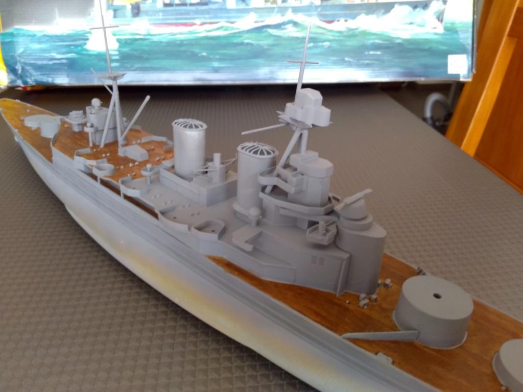 HMS HOOD 1/400 Heller Img_2076