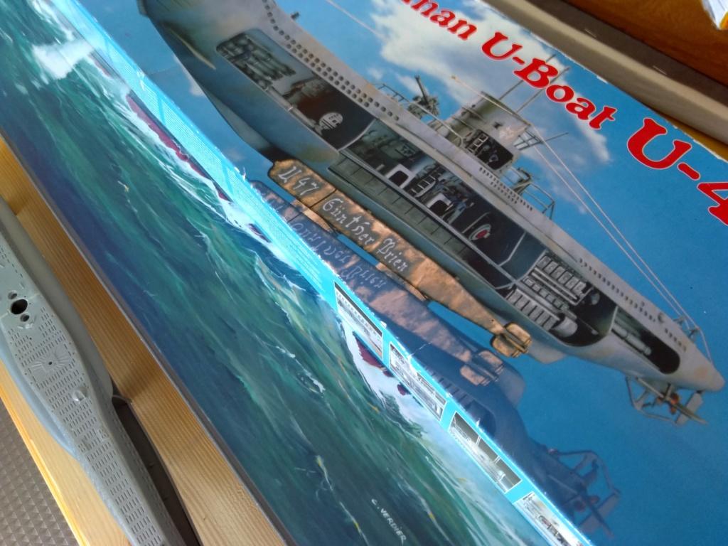 German U-Boot U-47 de Günther Prien avec intérieur  - Page 2 Img_2085